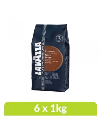 Loose - Lavazza Super Crema Coffee Beans (1 Box)