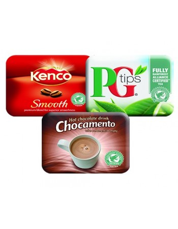 Klix Mixed Case (Nescafe Gold Blend, PG Tips, Chocomento)