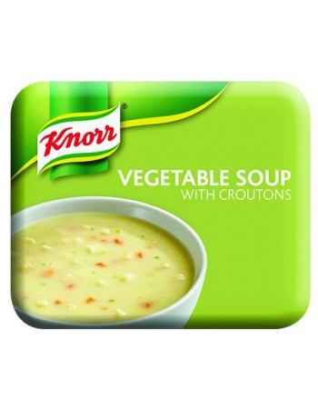 Klix Knorr Vegetable Soup with Croutons